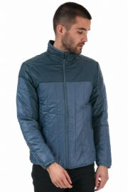 ADIDAS PORSCHE DESIGN Blue Quilted Insulation Jacket Coat MEDIUM New With Tags